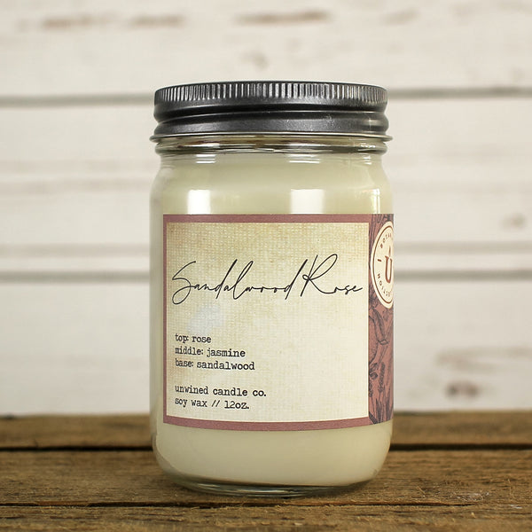 Unwined Botanical Collection - Sandalwood Rose