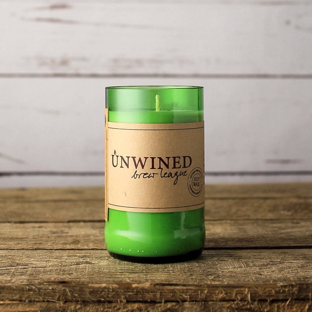 "Unwined ""Brew League"" Candles"
