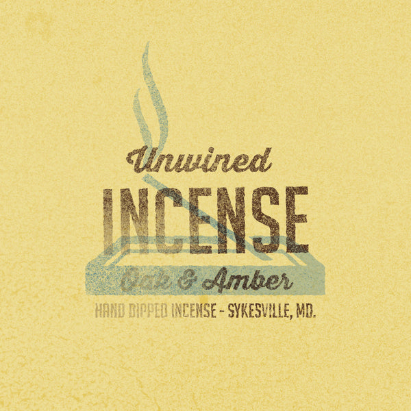 Incense - Oak & Amber