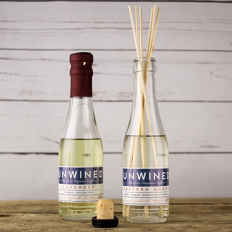 Unwined Candles - Wine Bottle Reed DIffuser