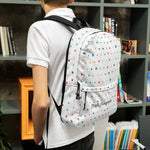 Geometric Patterned Backpack