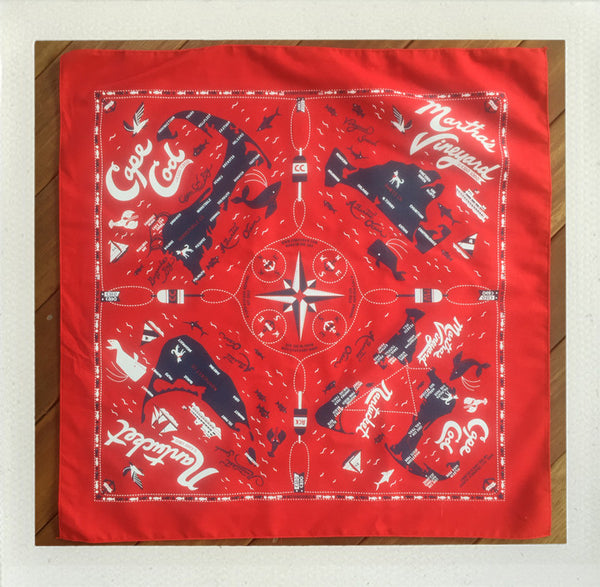 Cape & Islands Bandana for PUERTO RICO