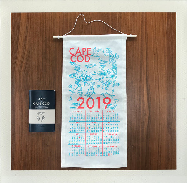 2019 Cape Cod Calendar + ABC's of Cape Cod Book