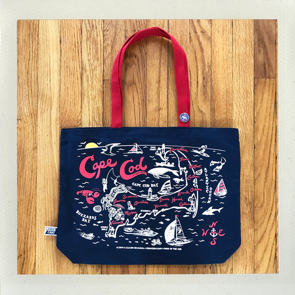 Cape Cod Beach Tote • Navy