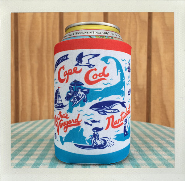 Cape & Islands Koozie