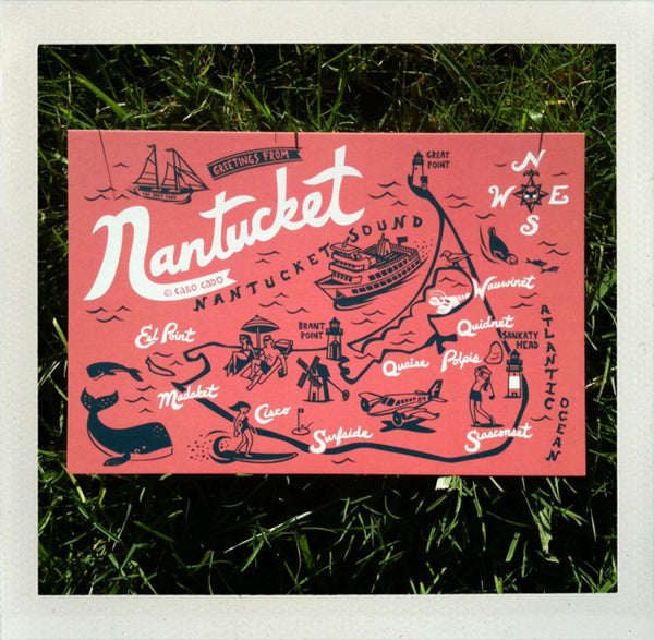 Nantucket Postcard