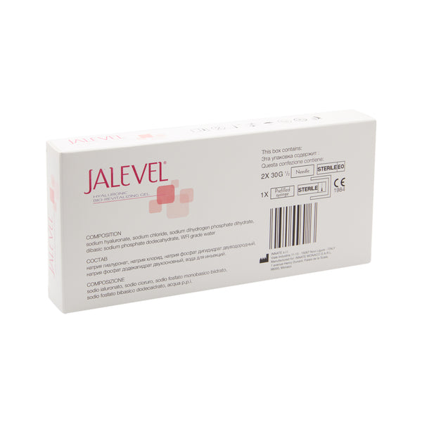Jalevel Hyaluronic Acid Gel 1x 2ml | suitable for Hyaluron Pen