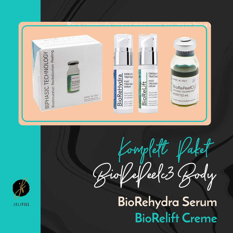 BioRePeelCl3 Body Komplettpaket