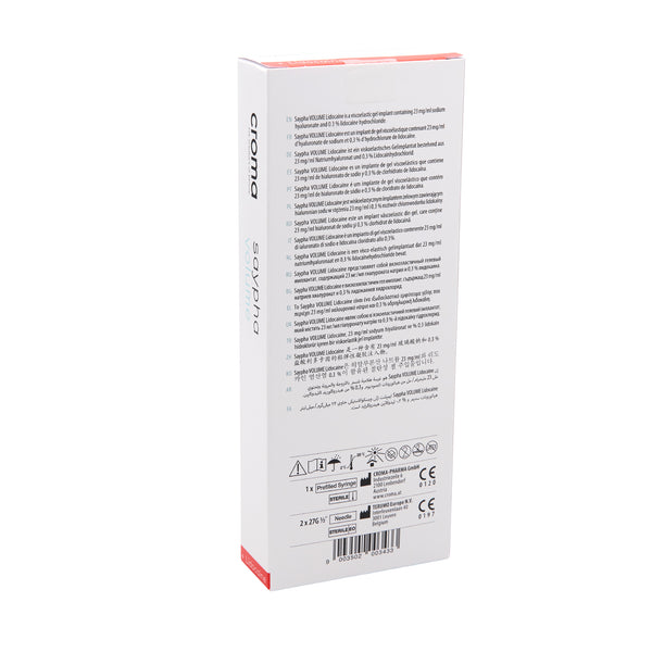 Saypha Volume Lidocaine 1x 1,0 ml - Jolifill.de