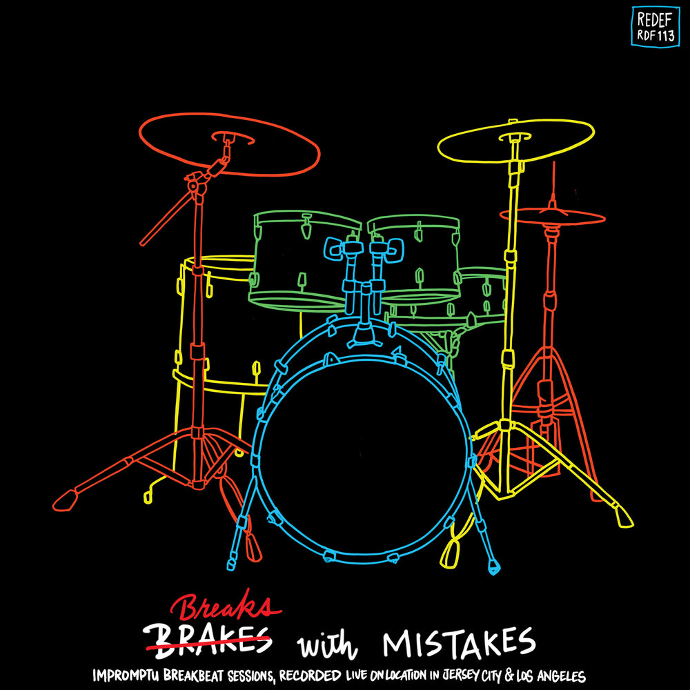 "Earl Davis - Breaks With Mistakes (12"" Vinyl)"