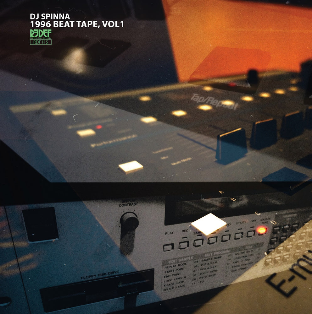 DJ Spinna - 1996 Beat Tape, Vol. 1 (LP - Orange Vinyl)