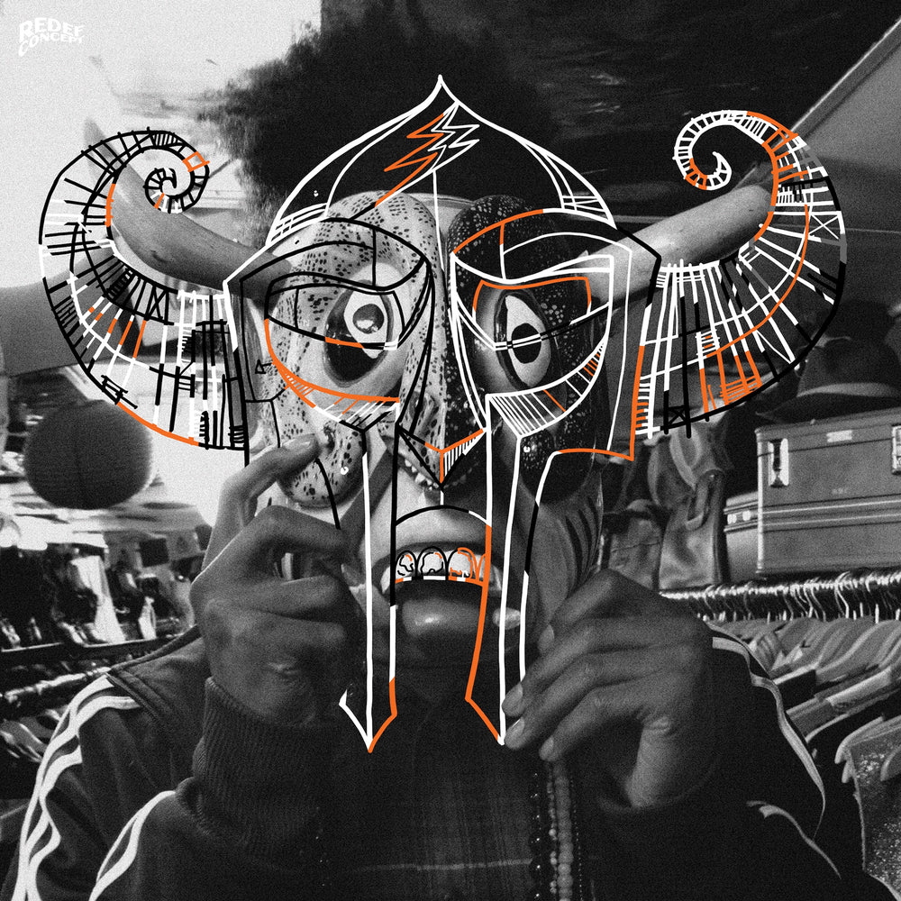 "MF DOOM & Damu The Fudgemunk - Coco Mango, Sliced & Diced (7"" - Orange Vinyl)"