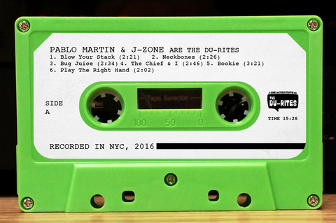 J-Zone & Pablo Martin are The Du-Rites (Cassette Tape)