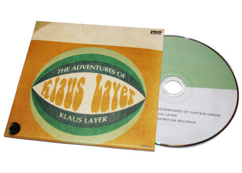 Klaus Layer - The Adventures of Captain Crook - CD