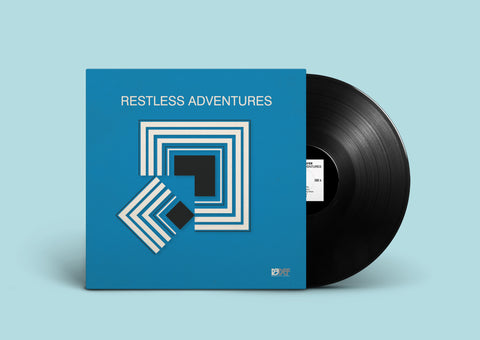 "Klaus Layer - Restless Adventures - 12"" Vinyl LP (BLACK)"
