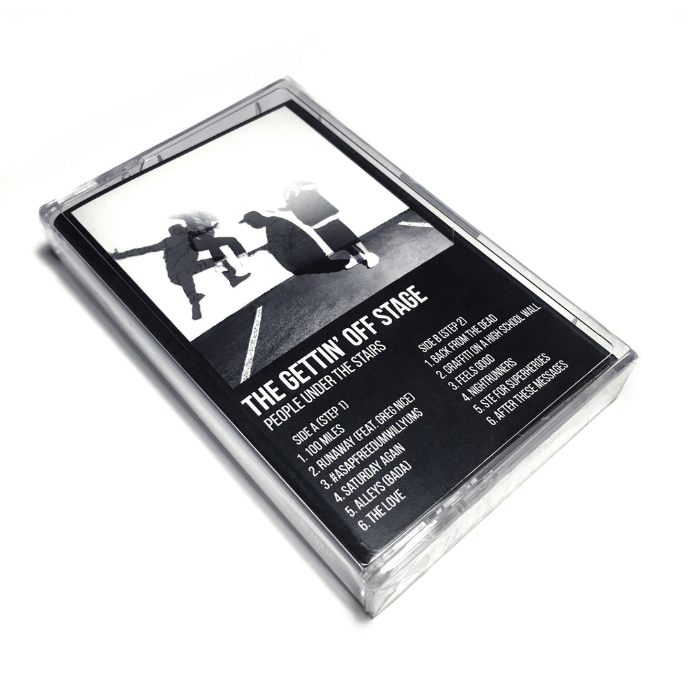People Under The Stairs - The Gettin' Off Stage, Steps 1 & 2: Vocal Versions (Cassette)