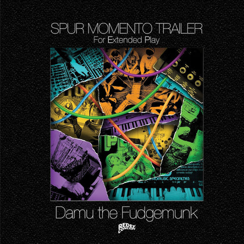 "Damu The Fudgemunk - Spur Momento Trailer - (2x10"" Vinyl, Yellow & Blue Versionl)"