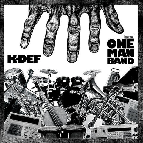 K-Def - One Man Band (VINYL LP, SILVER VERSION)