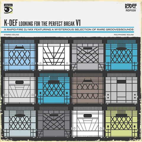 K-Def - Looking For The Perfect Break, Volume 1 (White Vinyl)