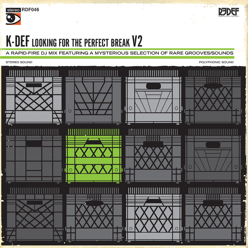 "K-Def - Looking For The Perfect Break, Volume 2 (Mixtape on 12"" Vinyl)"