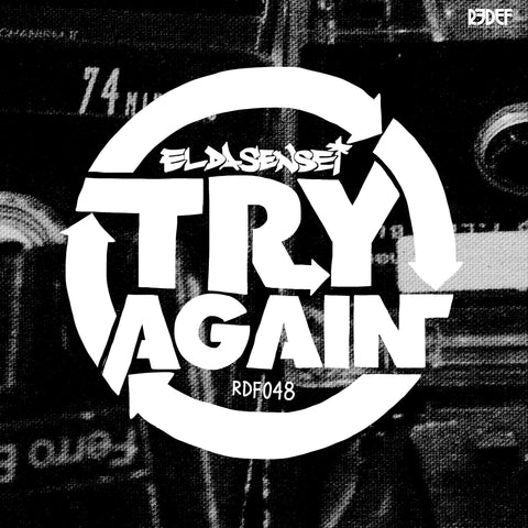 "El Da Sensei - Try Again (10"" Vinyl EP, Black)"
