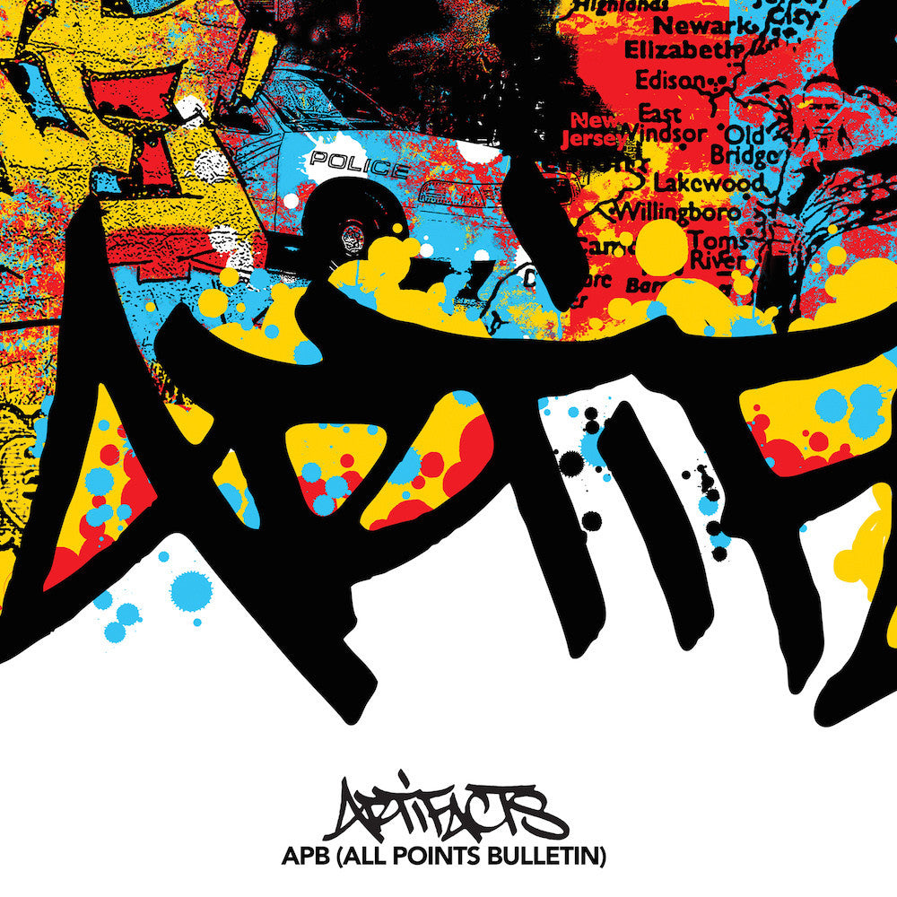 "Artifacts - All Points Bulletin (10"" Vinyl EP, White)"