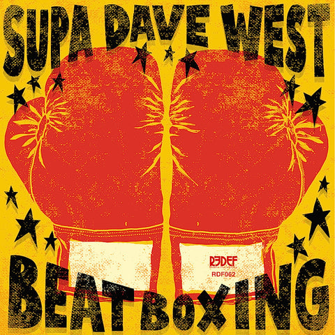"Supa Dave West - Beat Boxing (12"" Vinyl LP)"