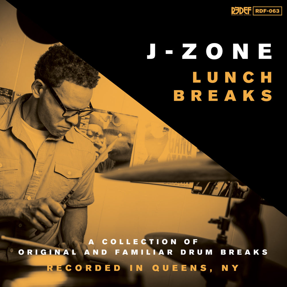 "J-Zone - Lunch Breaks - (Vinyl 12"" LP)"