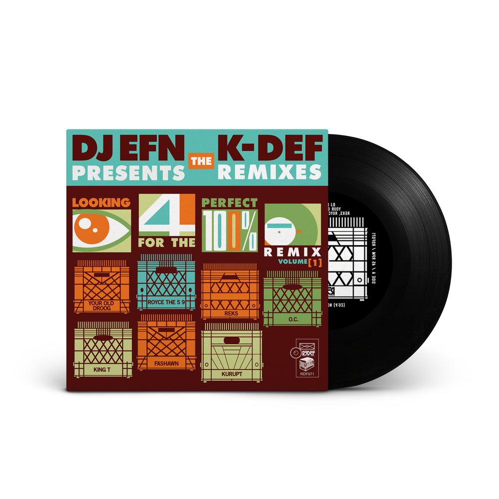 "K-Def & DJ EFN ft Your Old Droog, Royce Da 5 9, Reks, OC, King T, Fashawn & Kurupt - Vinyl (45 / 7"")"