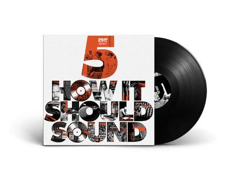 Damu The Fudgemunk - How It Should Sound Volume 5 (Black LP)
