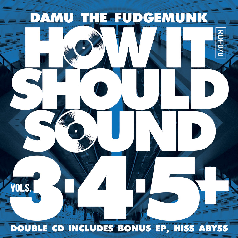 Damu The Fudgemunk - HISS Vol 3, 4 & 5 + HISS ABYSS (2CD)