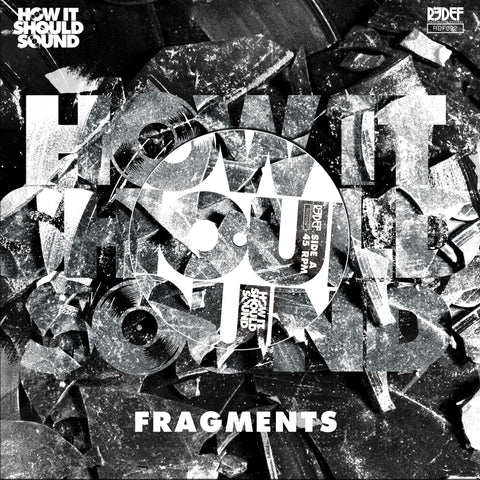 "Damu The Fudgemunk - HISS Fragments - Ltd White Vinyl (45 / 7"")"