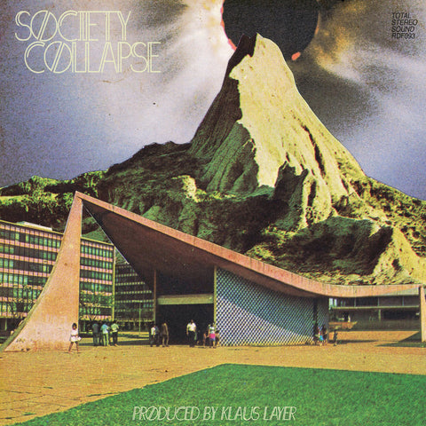 Klaus Layer - Society Collapse (Black Vinyl LP w/ Bonus 45 & Poster)