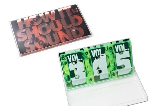 Damu The Fudgemunk - How It Should Sound, Vol. 3, 4 & 5 (3 x Cassette, 2 Color OPTIONS)
