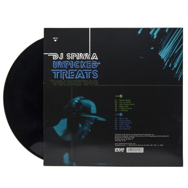 DJ Spinna - Unpicked Treats, Volume 1 (LP, Black Vinyl)