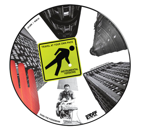Y SOCIETY (Insight & Damu The Fudgemunk) - Travel At Your Own Pace: Instrumentals (LP - Limited Picture Disc)