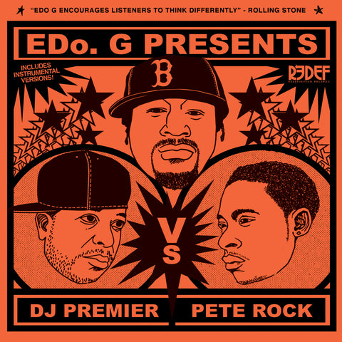 Edo. G, DJ Premier & Pete Rock - Edo G Presents DJ Premier vs Pete Rock (CD)
