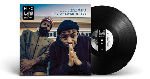 Damu The Fudgemunk & Flex Mathews - Burners (EP, Black Vinyl)
