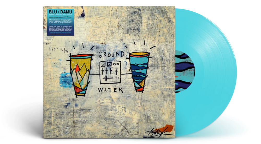 Blu & Damu - Ground & Water (Colored Vinyl LP)