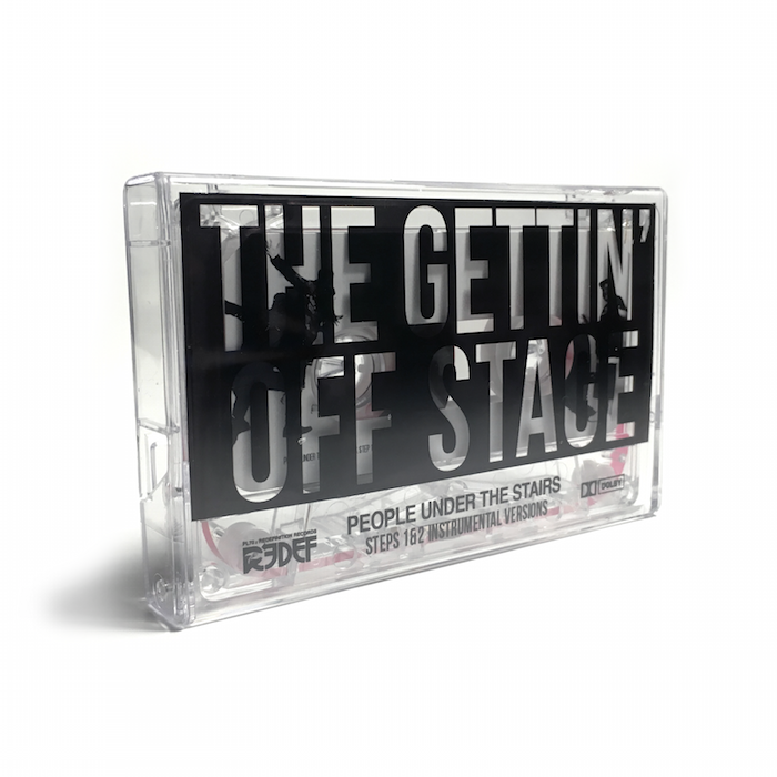 People Under The Stairs - The Gettin' Off Stage, Steps 1 & 2 Instrumentals (Cassette)