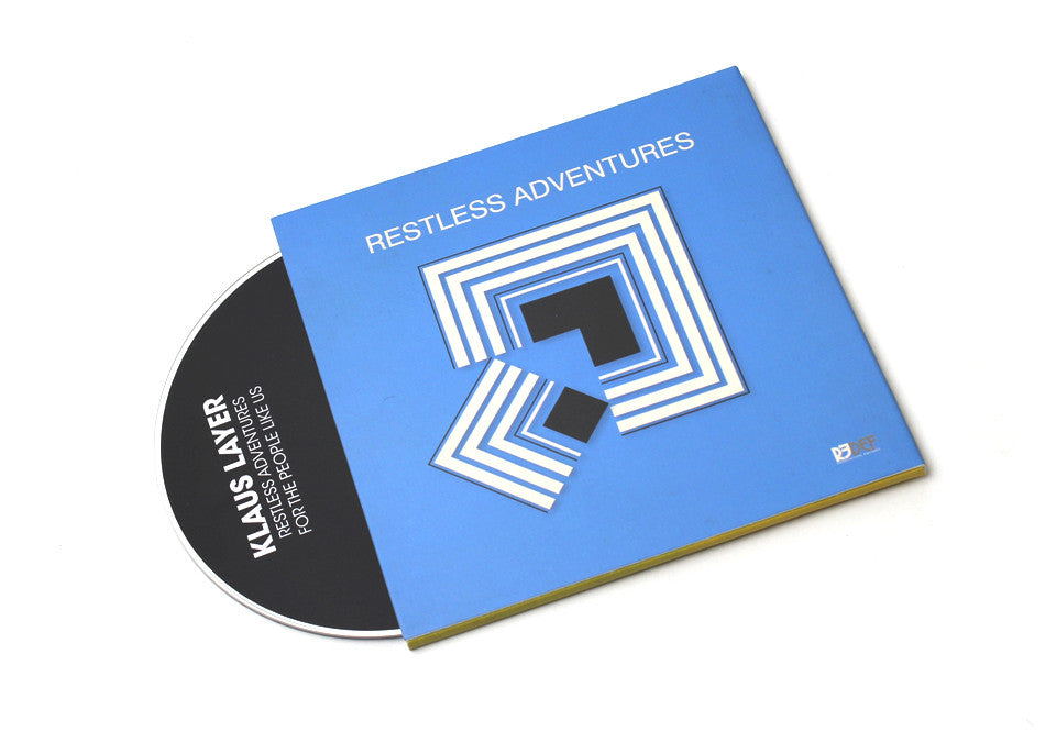 Klaus Layer - Restless Adventures / For The People Like Us - CD (2 Albums on 1 Disc)