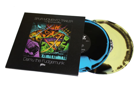 "Damu The Fudgemunk - Spur Momento Trailer - (2x10"" Vinyl, Yellow & Blue Version)"