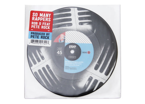 "Rob O + Pete Rock - So Many Rappers / Meccalicious (7"" - Picture Disc)"