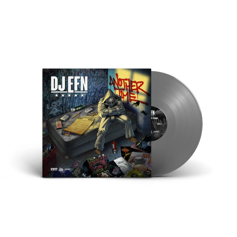 DJ EFN - Another Time (2 x LP, SILVER VINYL)