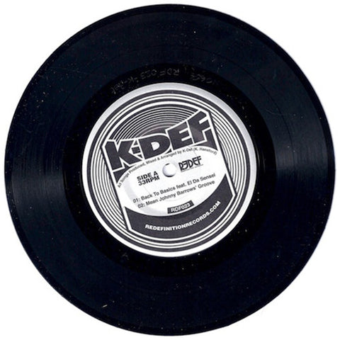 "K-Def feat. El Da Sensei (of The Artifacts) - Back To Basics (7"" EP)"