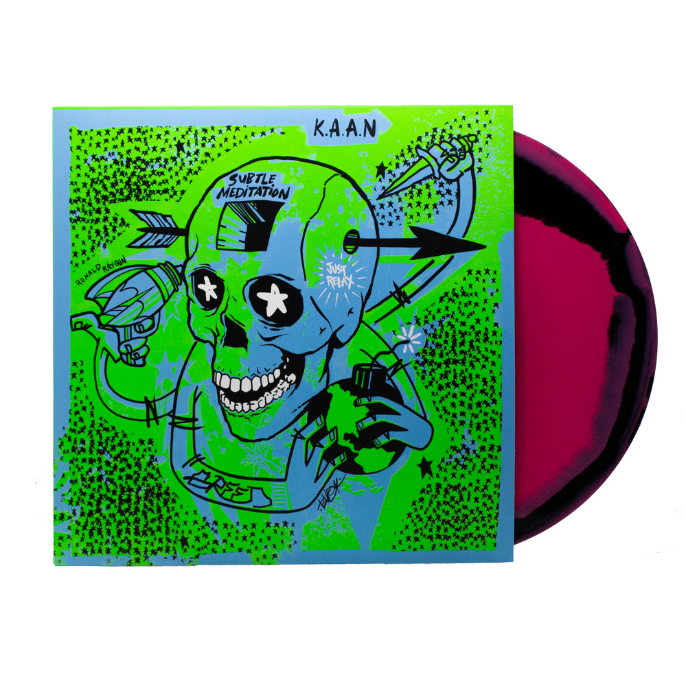 K.A.A.N. - Subtle Meditation (LP - Hot Pink/Black Vinyl)