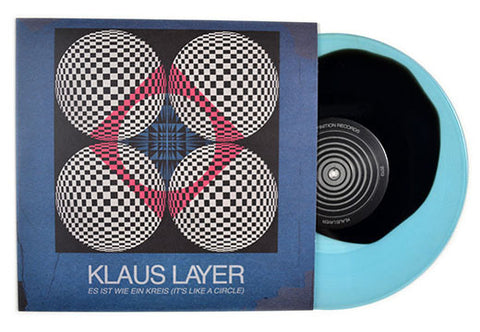"Klaus Layer - Es Ist Wie Ein Kreis (It's Like A Circle) - 10"" Vinyl EP (Color Version)"