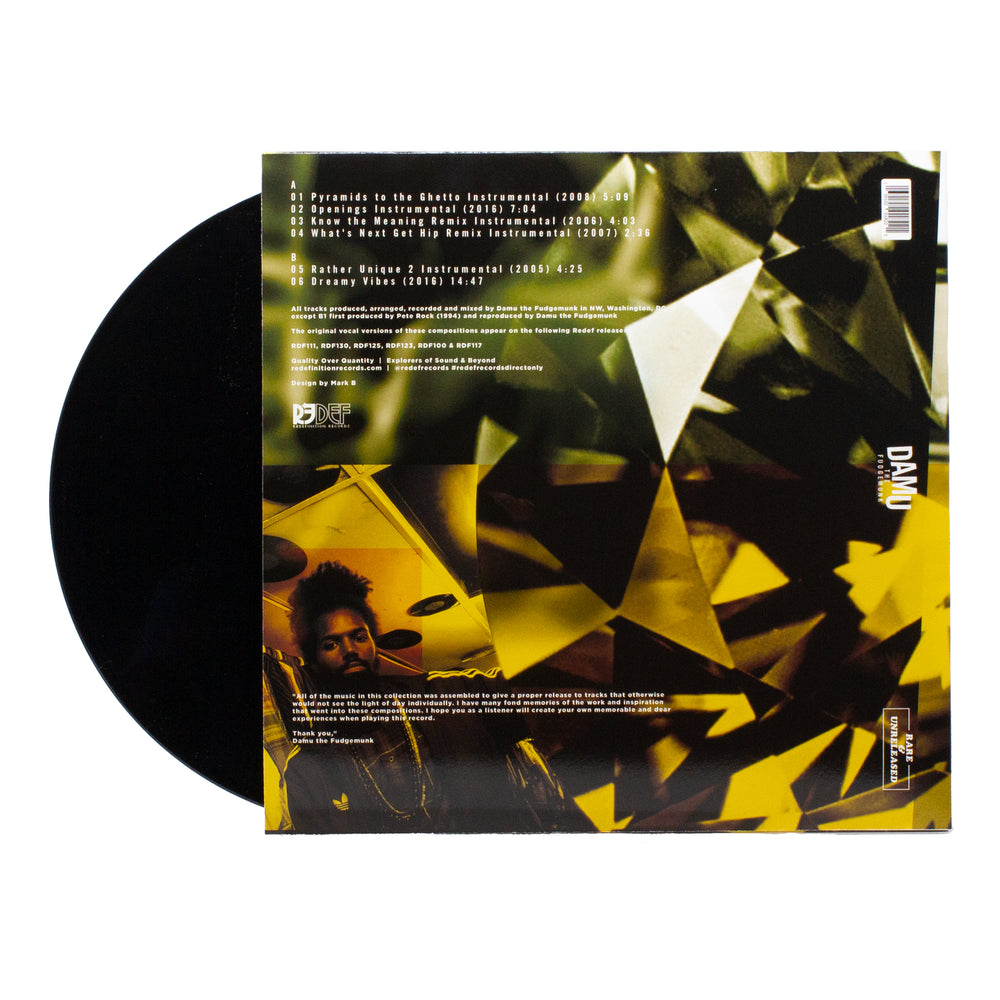 Damu The Fudgemunk - Rare & Unreleased [Instrumentals] (LP)