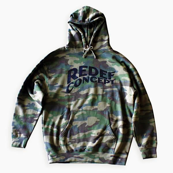 Redef Heavyweight Hoodie (Woodland Camo)