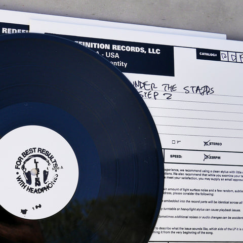 "People Under The Stairs - The Gettin' Off Stage, STEP 2 (12"" Vinyl Test Pressing EP)"